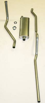 Shafer's Classic - 1950-1953 Chevrolet Exhaust System 6 cyl. with Powerglide Transmission exc. Convertible