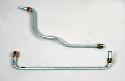 Engine - Gas Lines (Pump to Carb) - Shafer's Classic - 1961-64 Full Size Ford Gas Line (Pump To Carb)