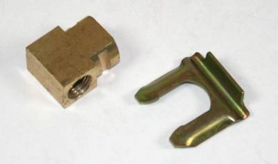 Shafer's Classic - 1951 - 1958 Chevrolet Full Size and 1953-63 Corvette Brass Junction Block