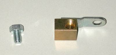 Brakes - Brake Related Parts - Shafer's Classic - 1955 Chevrolet Full Size  Brass Junction Block
