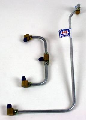 Engine - Gas Lines (Pump to Carb) - Shafer's Classic - 1956 - 1958 Chevrolet Corvette Gas Lines (Pump To Carb)
