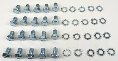 Engine - Engine Related Parts - Shafer's Classic - 1958 - 1964 Chevrolet Full Size Oil Pan Bolt Kit