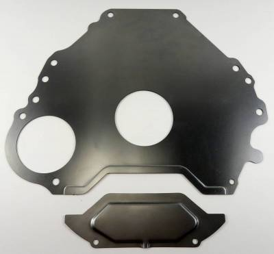 Transmission - Spacer Plates, Block to Transmission - Shafer's Classic - 1965 - 1968 Ford Mustang 289 V8 and 1963-68 Full size Ford Block To Transmission Spacer Plate And Cover