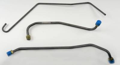 Engine - Gas Lines (Pump to Carb) - Shafer's Classic - 1969 Chevrolet Full Size  Gas Lines (Pump To Carb)