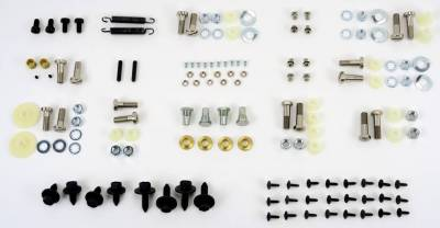 Body Parts - Convertible Related Parts - Shafer's Classic - 1964-66 Pontiac GTO And Chevelle Convertible Top Bolt Kit