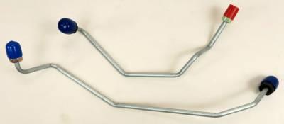 Brakes - Master Cylinder Line Kit - Shafer's Classic - 1967 Ford Mustang  Master Cylinder Line Kit