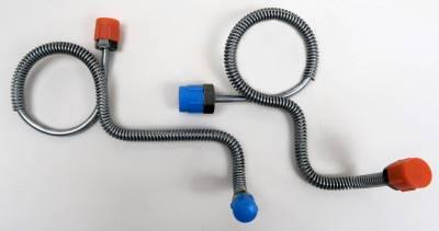 Brakes - Master Cylinder Line Kit - Shafer's Classic - 1970 Ford Mustang  Master Cylinder Line Kit