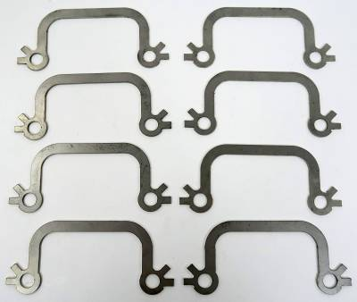 Exhaust - Manifold Studs & Nuts, Stainless steel - Shafer's Classic - 1963-64 Full Size Ford Exhaust Manifold Bolt Locks