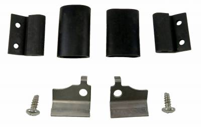 Engine - Fuel System and Related Parts - Shafer's Classic - 1957 Chevrolet Full Size Fuel Door Bumper Kit