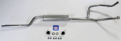 New Products - Shafer's Classic - 1966-74 Bronco V8 302 Single Exhaust System