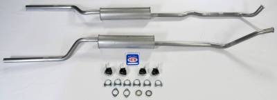 New Products - Shafer's Classic - 1966-74 Bronco V8 302 Dual Exhaust System