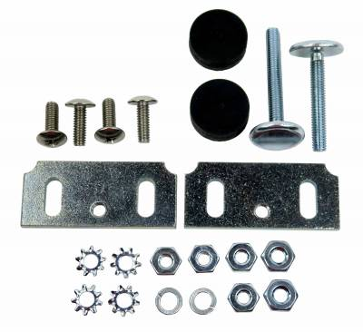 Body Parts - Window Parts - Shafer's Classic - 1955 - 1957 Chevrolet Full Size Window Stop Kit