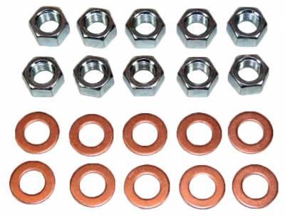 Suspension - Suspension, Body and Undercarriage - Shafer's Classic - 1955 - 64 Chevrolet Full Size and 1953-62 Corvette Rear End Housing Washer & Nut Kit
