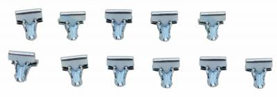 Suspension - Suspension, Body and Undercarriage - Shafer's Classic - 1962 - 1964 Chevrolet Full Size Rear Valance Panel Clips