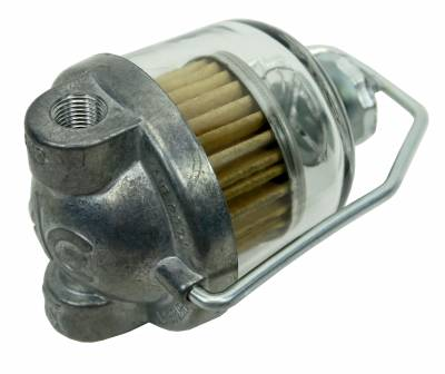 Engine - Fuel System and Related Parts - Shafer's Classic - 1956 - Early 1958 Chevrolet Full Size AC Domed Style Fuel Filter