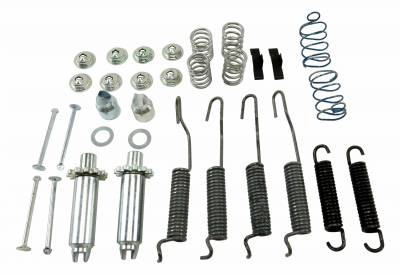 Brakes - Brake Hardware Kits - Shafer's Classic - 1951 - 1958 Chevrolet Full Size  Brake Hardware Kit, Rear Only