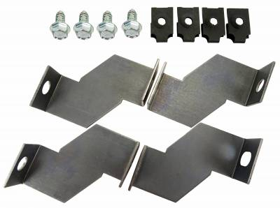 Engine - Shroud Brackets - Shafer's Classic - 1965 - 1966 Ford Mustang Shroud Brackets