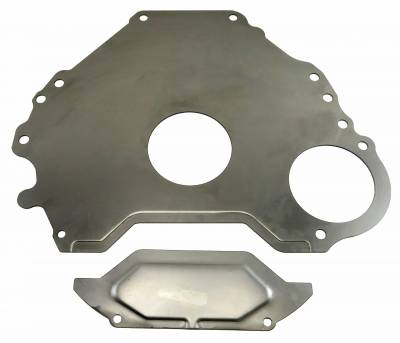 Shafer's Classic - 1965 - 1968 Ford Mustang 289 V8 and 1963-68 Full size Ford Block To Transmission Spacer Plate And Cover - Image 2