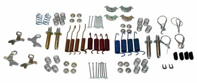 Brakes - Brake Hardware Kits - Shafer's Classic - 1961-64 Full Size Ford Brake Hardware Kit