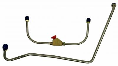 Shafer's Classic - 1967 - 1968 Chevrolet Camaro Gas Line (Pump To Carb)