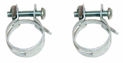 Hoses - By-Pass Hoses and Clamps - Shafer's Classic - 1958 - 1965 Chevrolet Full Size By-pass Hose Clamps