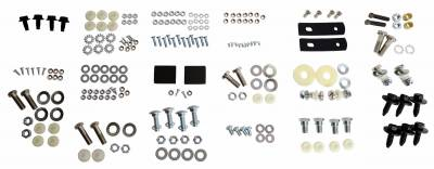 Body Parts - Convertible Related Parts - Shafer's Classic - 1962 - 1964 Chevrolet Full Size Convertible Top Bolt Kit