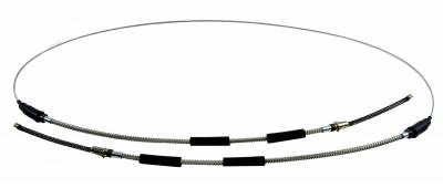 Brakes - Parking Brake Parts - Shafer's Classic - 1955 - 1957 Chevrolet Full Size Rear Parking Brake Cable