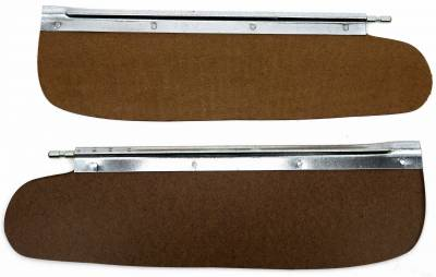 Body Parts - Interior Parts - Shafer's Classic - 1955 - 1958 Chevrolet Full Size Sun Visors