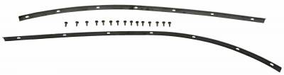Body Parts - Convertible Related Parts - Shafer's Classic - 1955 - 1957 Chevrolet Full Size Header Strip