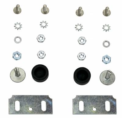 Body Parts - Window Parts - Shafer's Classic - 1958 Chevrolet Full Size Window Stop Kit