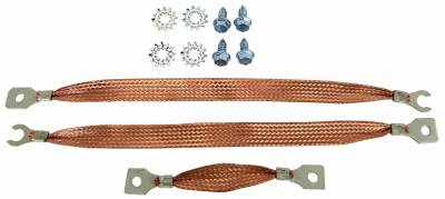 Engine - Engine Related Parts - Shafer's Classic - 1961 - 1964 Chevrolet Full Size Ground Strap Kit