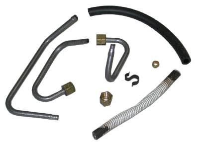 Engine - Choke-Heat Riser Tubes & Related Parts - Shafer's Classic - 1970 - 1973 Ford Mustang  Choke-Heat Riser Tube