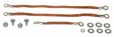 Engine - Engine Related Parts - Shafer's Classic - 1958 Chevrolet Full Size Ground Strap Kit