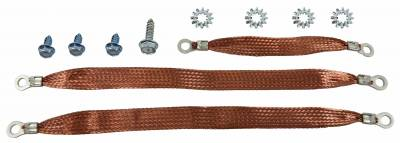 Engine - Engine Related Parts - Shafer's Classic - 1959 - 1960 Chevrolet Full Size Ground Strap Kit