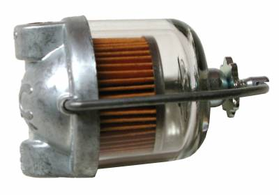 Engine - Fuel System and Related Parts - Shafer's Classic - 1955 - 1957 Ford Mustang AC Domed Fuel Filter