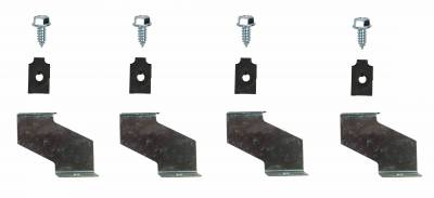 Shafer's Classic - 1965 - 1966 Ford Mustang  Shroud Brackets