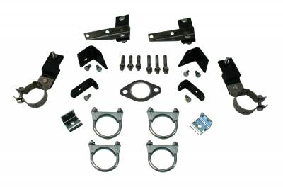 Exhaust - Clamp and Hanger Kits - Shafer's Classic - 1956 Chevrolet Full Size  Clamp And Hanger Kit