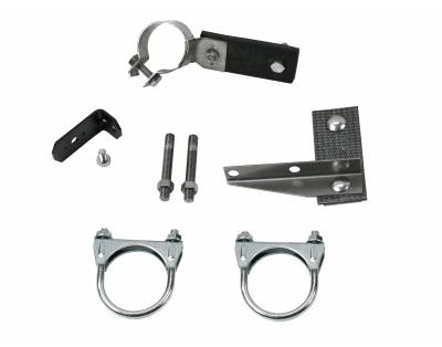 Exhaust - Clamp and Hanger Kits - Shafer's Classic - 1957 Chevrolet Full Size  Clamp And Hanger Kit